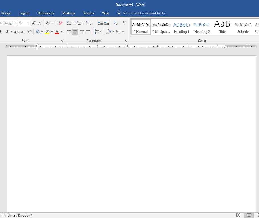 Insert the copyright symbol in MS word